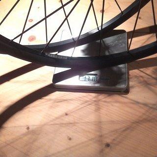Gewicht SRAM Systemlaufräder Roam 30 xD  27.5