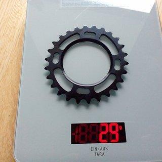 Gewicht Rotor Kettenblatt Q-Rings 80 mm / 26Z