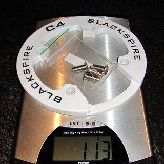 Gewicht Blackspire Bashguard C4 RingGod 36Z, 104mm