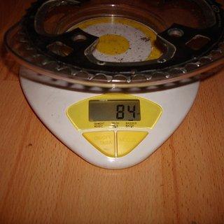 Gewicht Shimano Kettenblatt XT FC-M770 104mm, 44Z