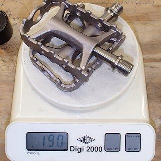 Gewicht Wellgo Pedale (Platform) M111 (tuned) 99x61x18mm