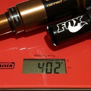 Gewicht Fox Racing Shox Dämpfer Float X CTD 216x63