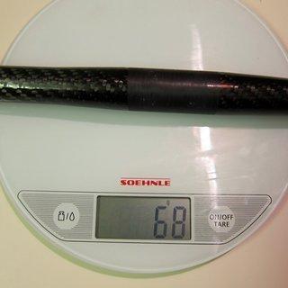 Gewicht Ax-Lightness Lenker Hera 25,4 x 580mm