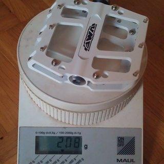 Gewicht UMF Pedale (Platform) FR Pro 104,5x100x24mm