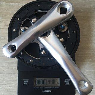 Gewicht Kubikes Kurbelgarnitur 20S, 114 mm/32 Z N/W 114mm