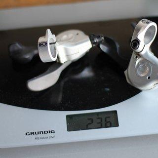 Gewicht Shimano Schalthebel XT SL-M760 3x9-fach