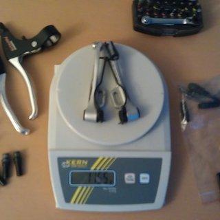 Gewicht Shimano Felgenbremse Alivio BR-M422