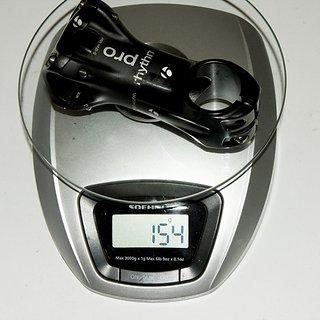 Gewicht Bontrager Vorbau Rhythm Pro (tuned) 31.8mm, 80mm, 7°