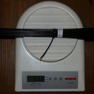 Gewicht CN Spoke Speiche MAC14 260mm, 66 Stück