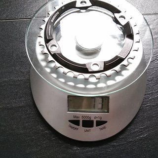 Gewicht Shimano Kettenblatt XT  FC-M8000 96mm LK 30t