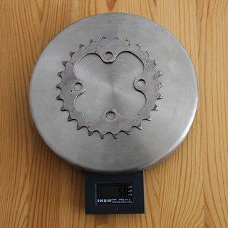 Gewicht Shimano Kettenblatt LX FC-M581 64mm, 26Z