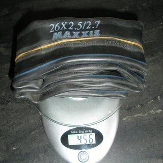 """Gewicht Maxxis Schlauch Downhill-Schlauch AV/26x2.5-2.7"""""""