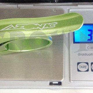 Gewicht Azonic Sattelklemme  Quick Release 31,8mm