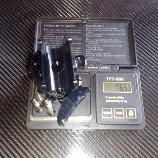 Gewicht Tune Sattelstütze Cappy Ø38,35mm