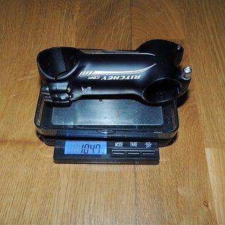 Gewicht Ritchey Vorbau WCS 4-Axis 31.8mm, 80mm, 6°