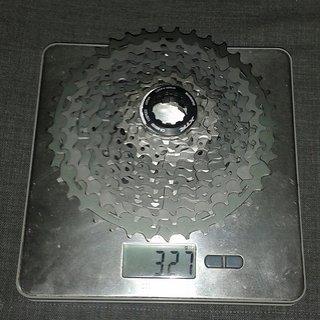 Gewicht Shimano Kassette XTR CS-M9000 11-fach, 11-40Z