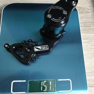 Gewicht SB1 Bikeparts Kettenspanner DH/Dirt-Kettenspanner