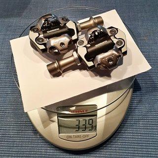Gewicht Shimano Pedale (Klick) XT PD-M8000