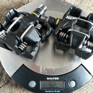 Gewicht Mavic Pedale (Klick) Crossmax XL Ti
