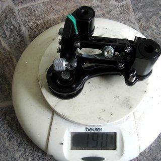 Gewicht Joe's Components Schaltwerk Rear mech