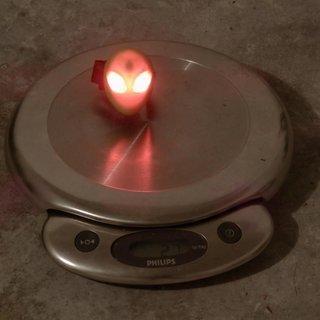Gewicht Topeak Beleuchtung AlienLux green