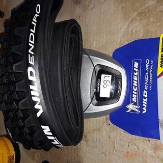 Gewicht Michelin Reifen Wild Enduro Front Magi-X  27,5 x 2,40