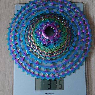 Gewicht ZTTO Kassette 11fach 11-50 Rainbow 11fach
