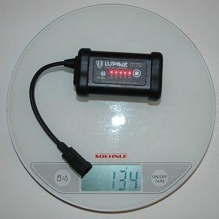 Gewicht Lupine Beleuchtung SmartCore Akku 2.7 Ah