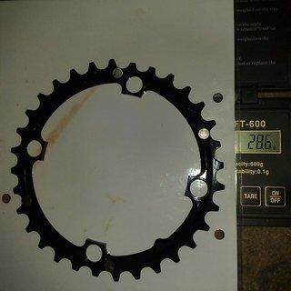 Gewicht FRM Kettenblatt Pro 104mm, 32Z