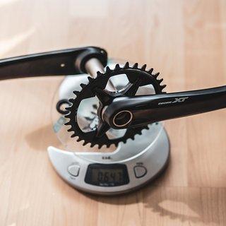 Gewicht Shimano Kurbel XT FC-M8100-1 175 mm, 34t