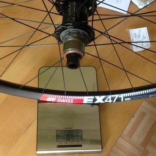 "Gewicht Acros Systemlaufräder nineteen ED / Dt Swiss EX471 / Sapim D-light Race  27,5"" 12mm x 142mm HR"