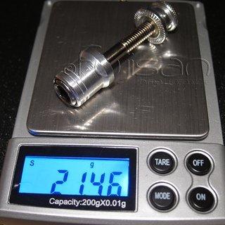 Gewicht TranzX Sattelklemme Klemmschraube (CrMo) M6