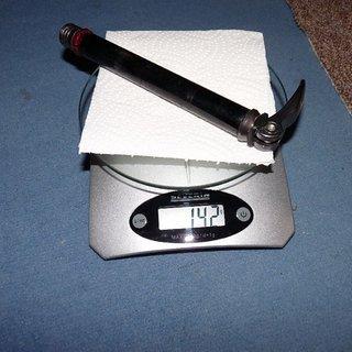 Gewicht Suntour Achse Q-Loc 110 x 20mm