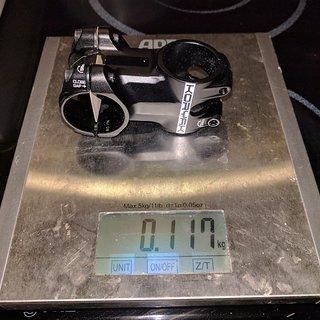 Gewicht Pro Parts Vorbau Koryak 50 mm, 0°, 31,8 mm 50 mm, 0° Rise, 31,8 mm