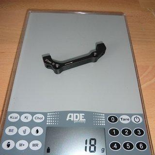 Gewicht Avid Scheibenbremsadapter Adapter IS >>> PM +20