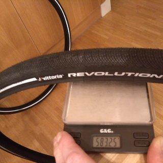 Gewicht Vittoria S.p.A. Reifen Revolution G+ 700-32C, 32-622