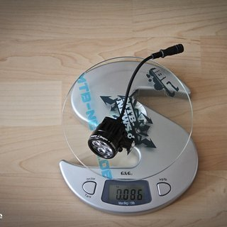 Gewicht Hope Beleuchtung R4 Lampenkopf