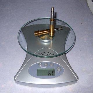 Gewicht Exustar Weiteres/Unsortiertes Achsen (Ti)