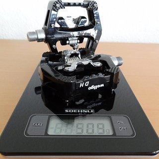 Gewicht Wellgo Pedale (Sonstige) DH10 Magnesium