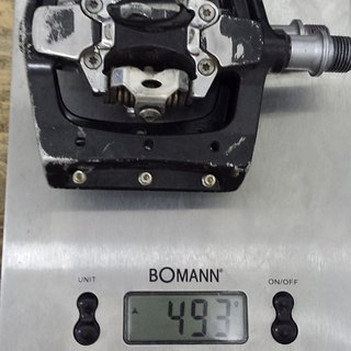 Gewicht Exustar Pedale (Klick) E-PM820-1