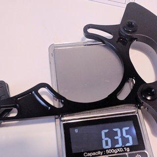 Gewicht absoluteBlack Kettenführung Oval Bash Guide