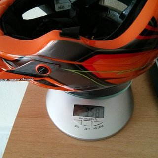Gewicht Troy Lee Designs Helm A1 Helmet Turbo Gloss Orange M/L