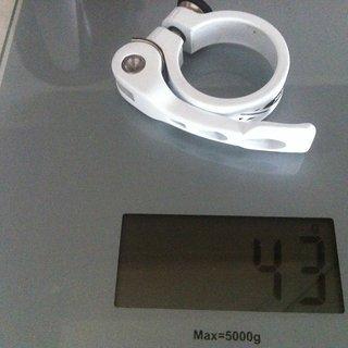 Gewicht XLC Sattelklemme PC-L03 34,9