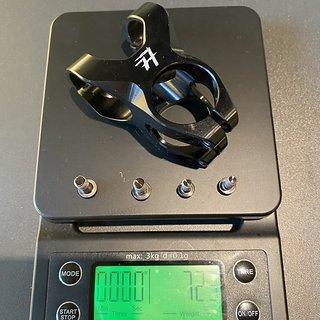 Gewicht 77designz Vorbau OnePiece Stem 35mm 1PS-35-35-B9 35mm