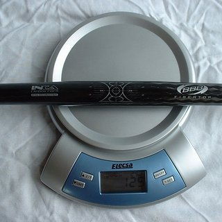 Gewicht BBB Lenker FiberTop BHB-14 25,4 x 560mm