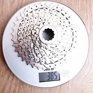 Gewicht Shimano Kassette CS-HG400-9 9-fach, 11-36