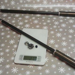 Gewicht Marzocchi Feder 888 ATA Luftfeder 160-200mm