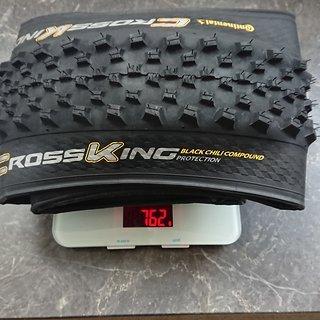 Gewicht Continental Reifen Continental Cross King ProTection 29x2.3 Zoll 29x2.3