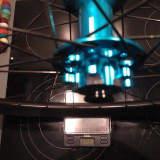 "Gewicht Novatec Systemlaufräder D771SB - Ryde Trace 29 - Sapim D-Light/Race 29"", VR, 100mm/15mm"