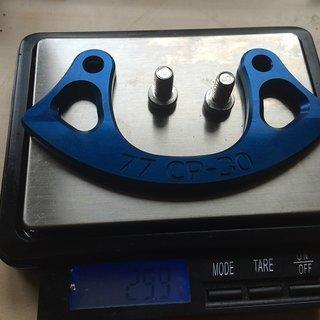 Gewicht 77designz Bashguard Crash Plate 30T